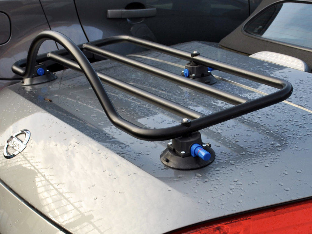 Nissan 350z Roadster Luggage Rack Unique Design No Bolts No Clamps