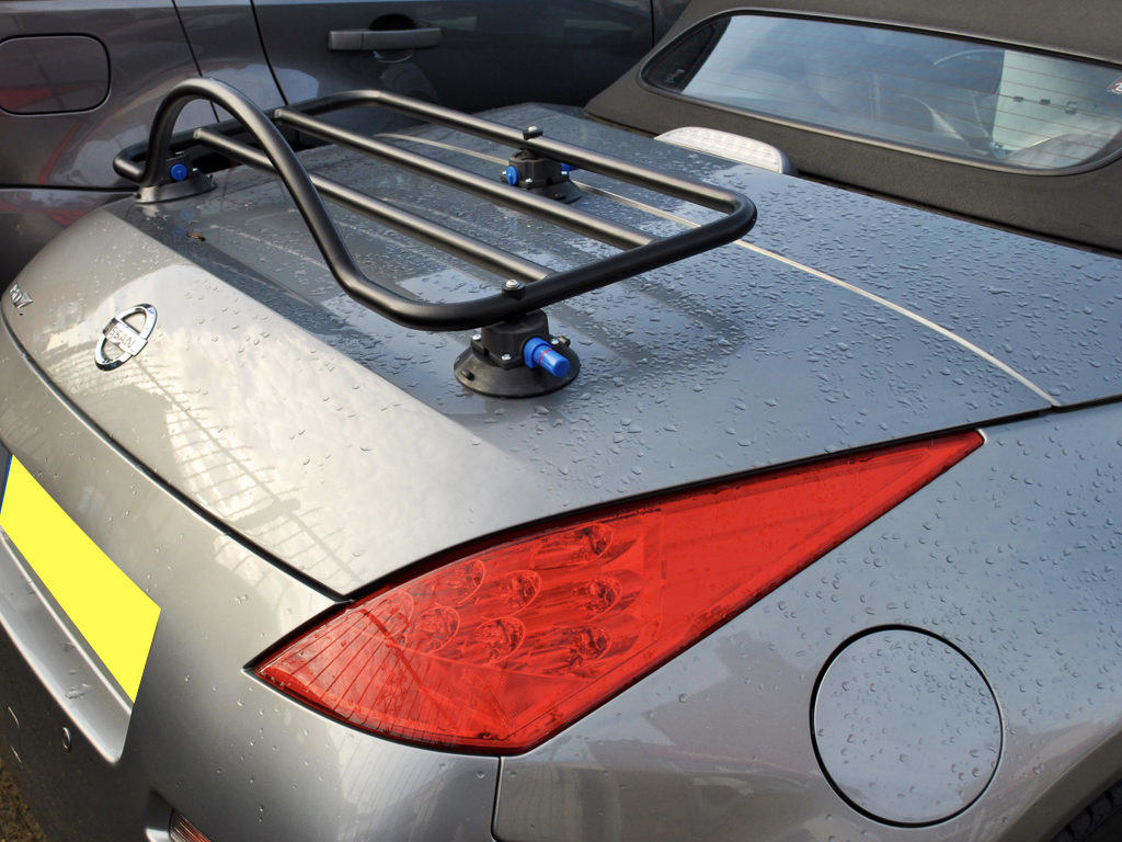 Nissan 350z Roadster Luggage Rack Unique Design No Bolts