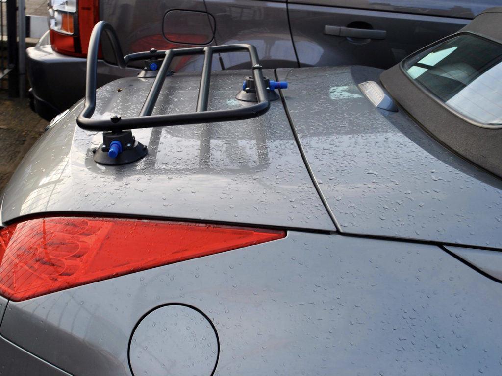 Nissan 350z Roadster Luggage Rack Unique Design No Bolts No Clamps
