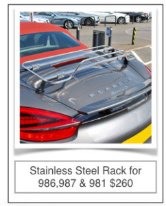 Boxster Trunk Rack Car Luggage Racks For Convertibles