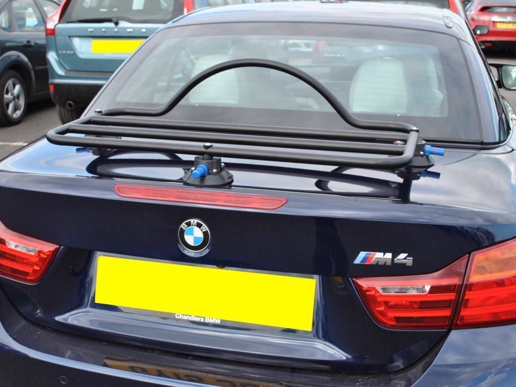 Convertible Luggage Rack No Clamps No Straps No Brackets