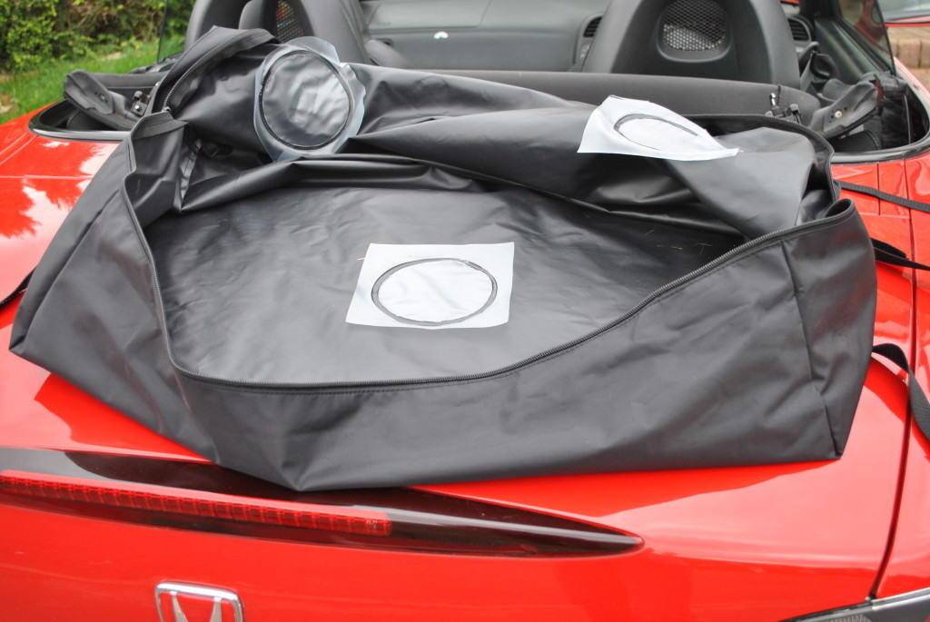 Boot Bag Original Car Luggage Racks For Convertibles